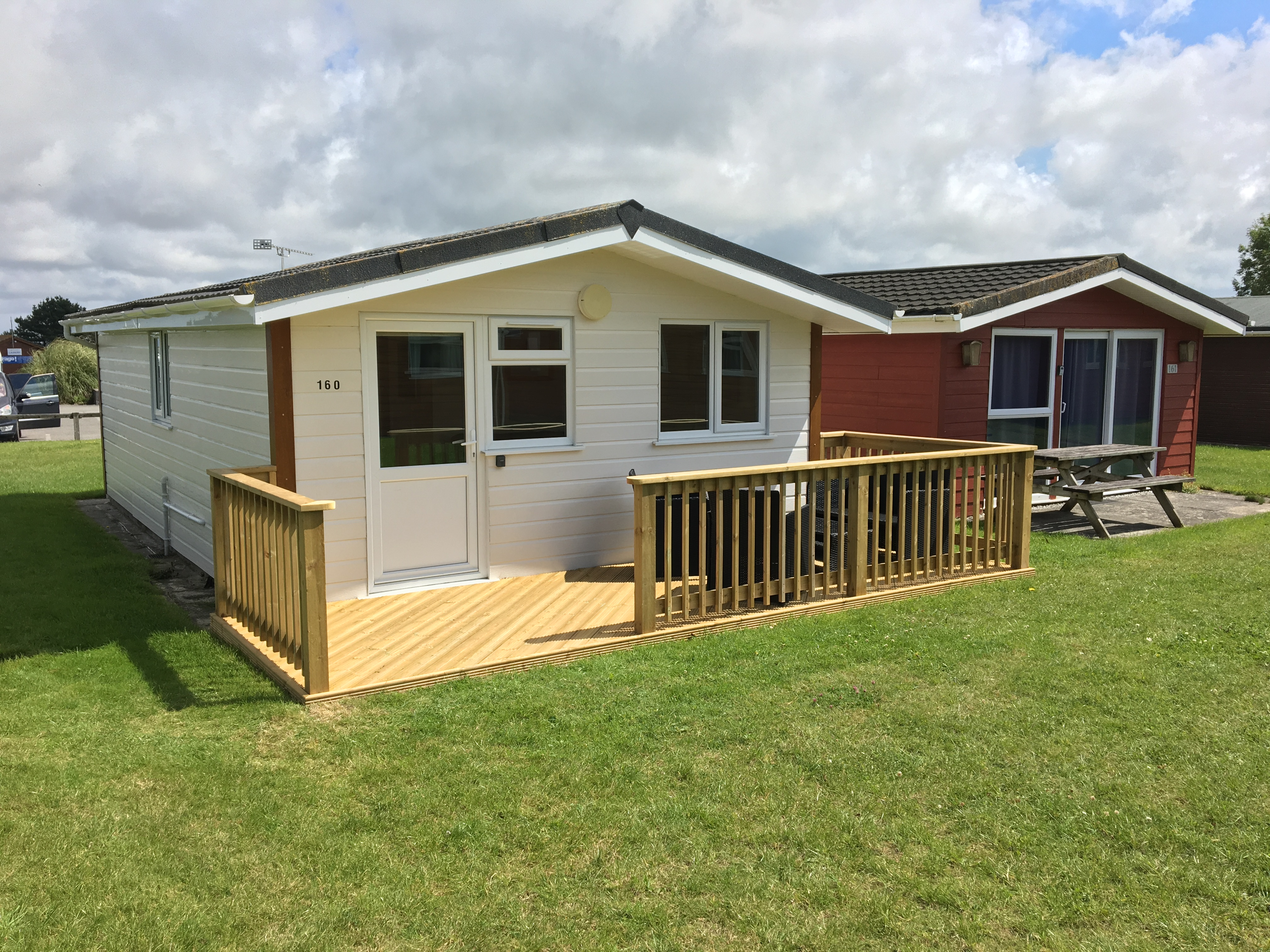 Holiday lodges Cornwall with hot tubs.